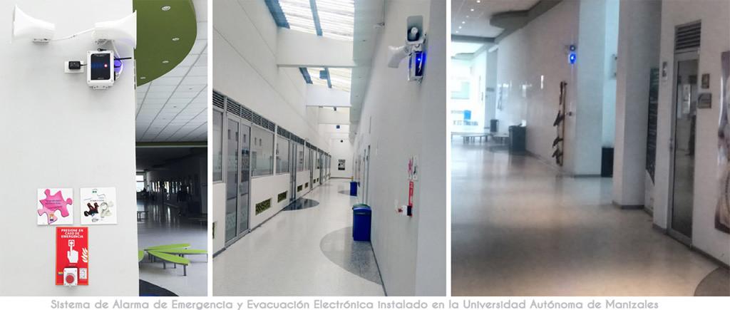 Dispositivos Sistema de alarma de emergencia clínicas y laboratorios
